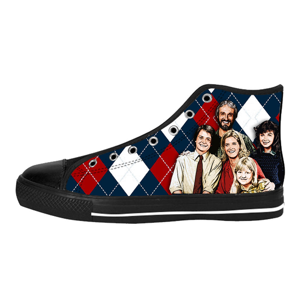 Family Ties Shoes & Sneakers - Custom Family Ties Canvas Shoes - TeeAmazing - 1