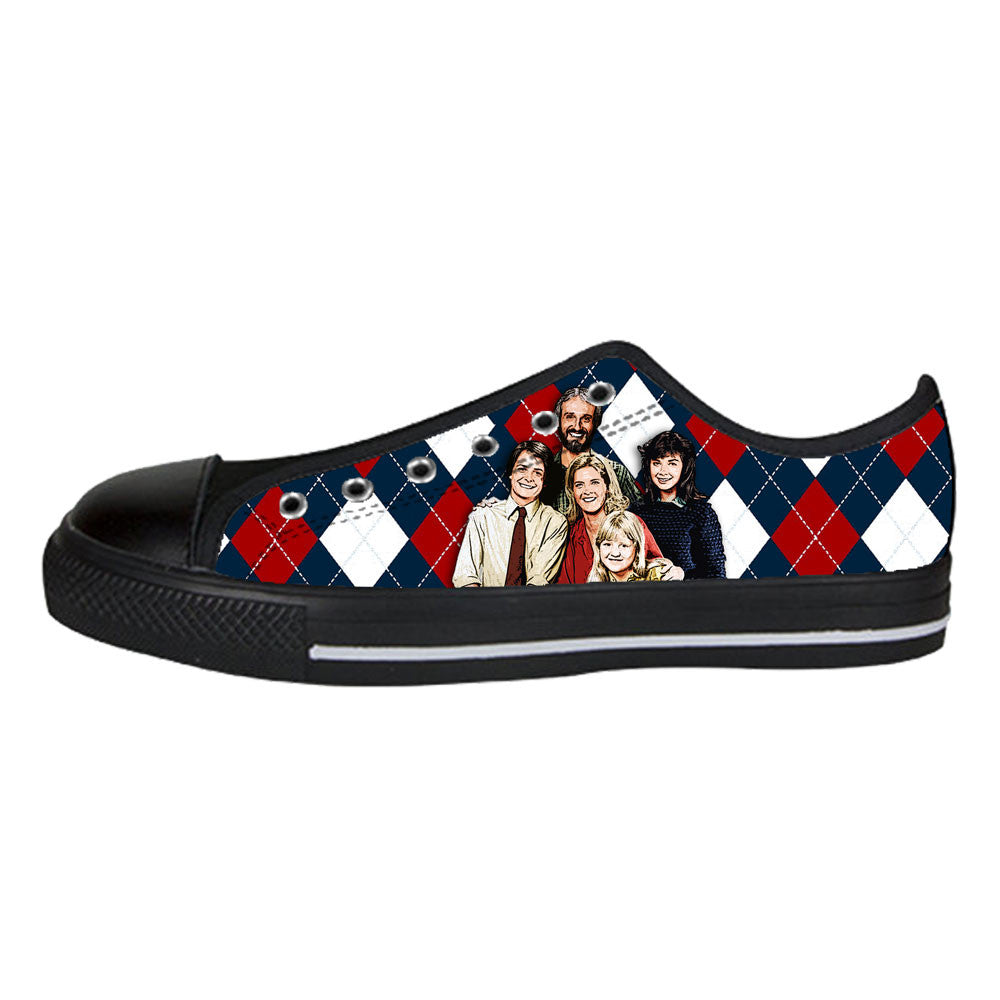 Family Ties Shoes & Sneakers - Custom Family Ties Canvas Shoes - TeeAmazing - 3