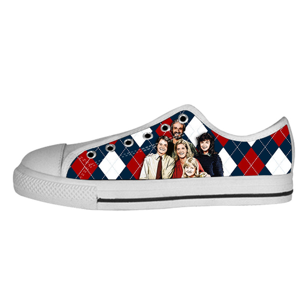 Family Ties Shoes & Sneakers - Custom Family Ties Canvas Shoes - TeeAmazing - 4