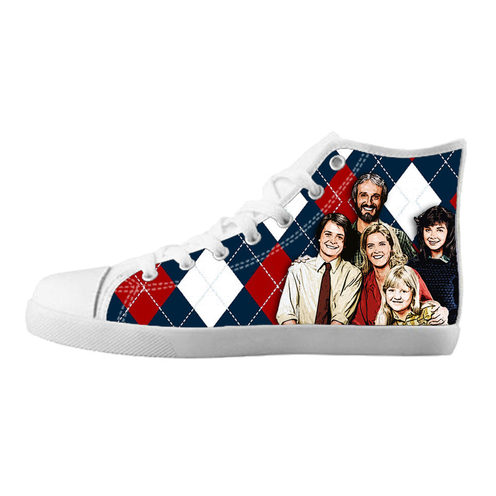 Family Ties Shoes & Sneakers - Custom Family Ties Canvas Shoes - TeeAmazing - 5