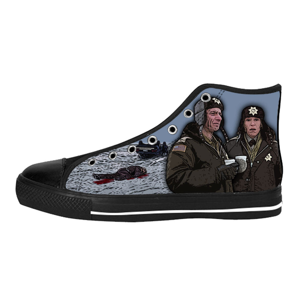 Fargo Shoes & Sneakers - Custom Fargo Canvas Shoes - TeeAmazing - 1
