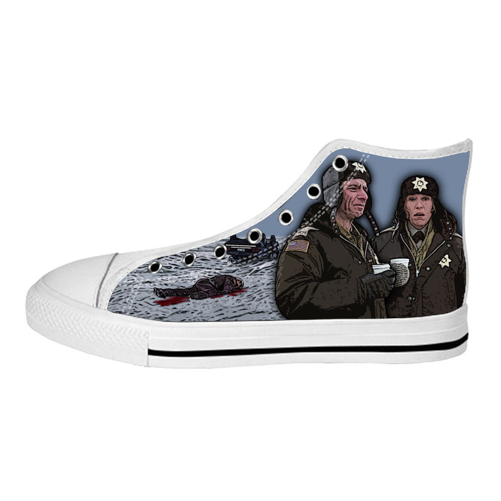 Fargo Shoes & Sneakers - Custom Fargo Canvas Shoes - TeeAmazing - 2
