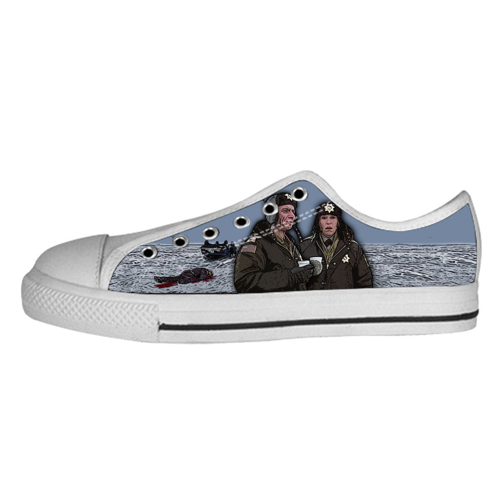 Fargo Shoes & Sneakers - Custom Fargo Canvas Shoes - TeeAmazing - 4