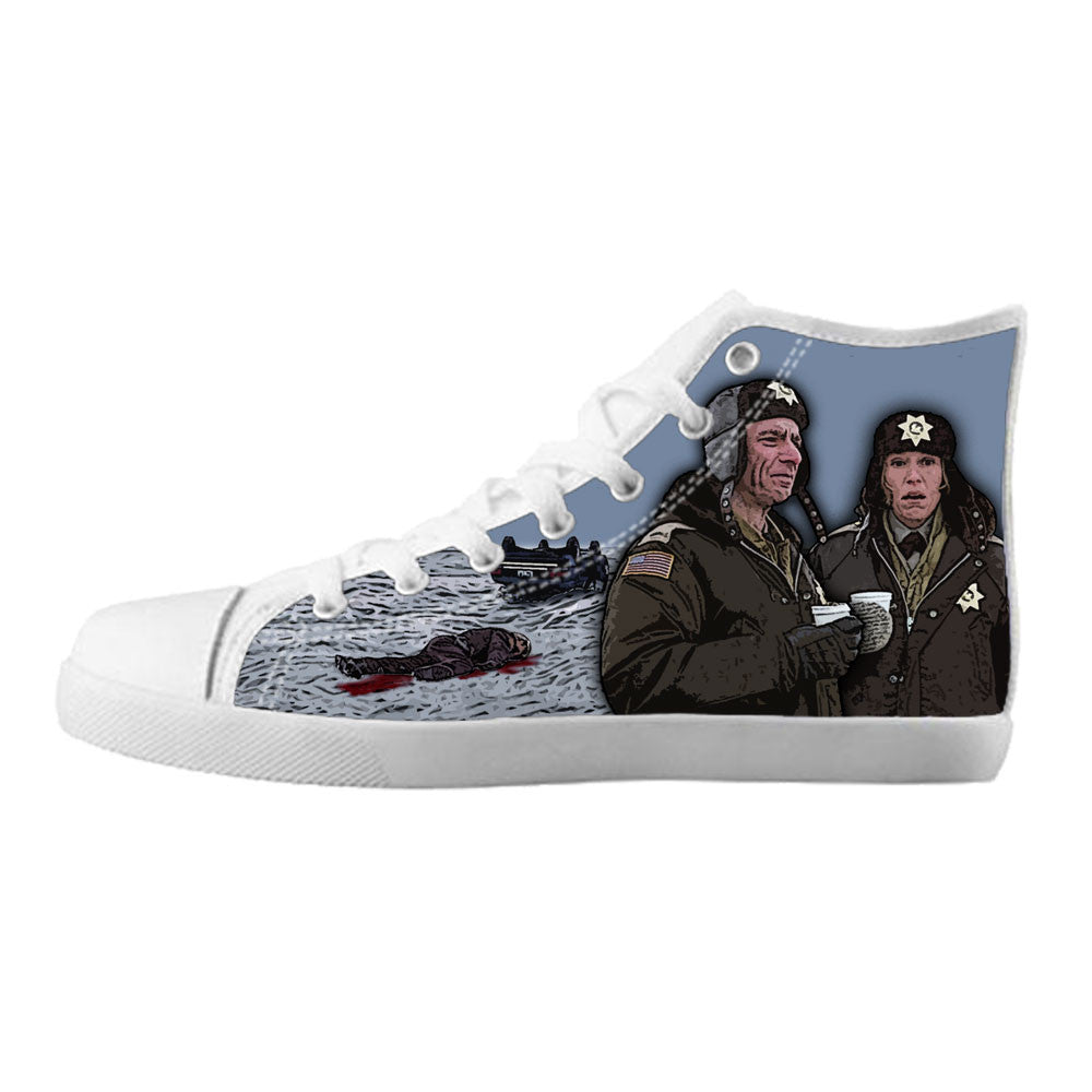 Fargo Shoes & Sneakers - Custom Fargo Canvas Shoes - TeeAmazing - 5