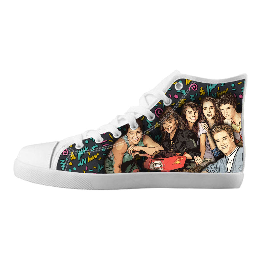 Saved by the Bell Shoes & Sneakers - Custom Saved by the Bell Canvas Shoes - TeeAmazing - 5