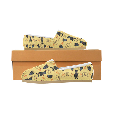 Cane Corso Pattern Women's Casual Shoes