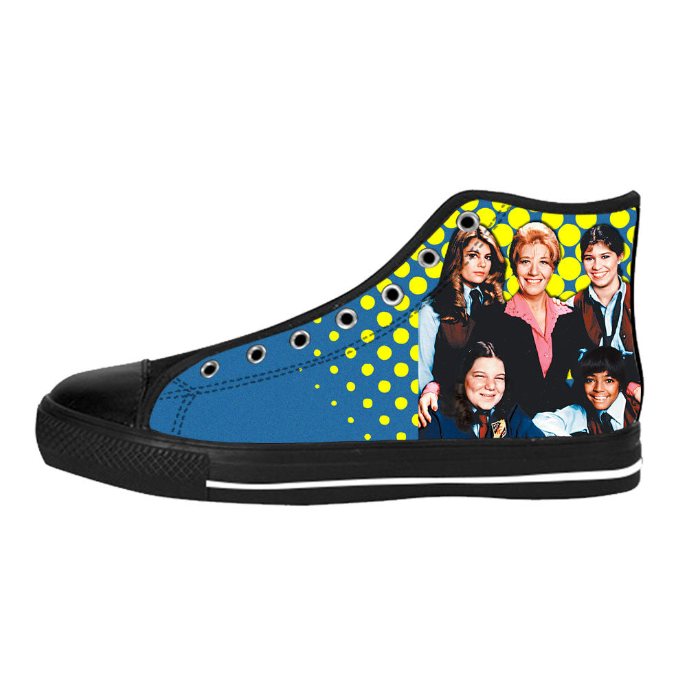 The Facts of Life Shoes & Sneakers - Custom The Facts of Life Canvas Shoes HW1B0901-US6