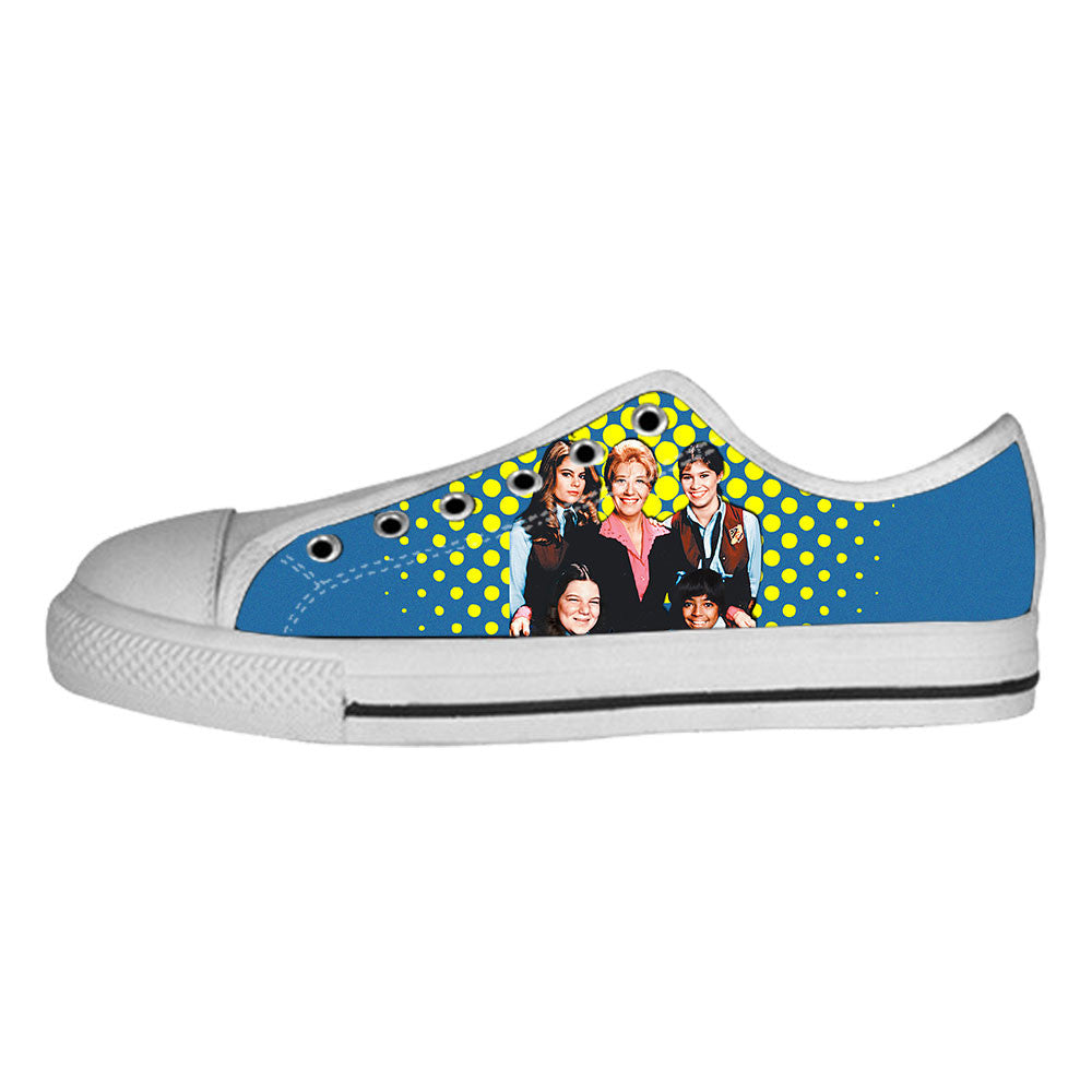 The Facts of Life Shoes & Sneakers - Custom The Facts of Life Canvas Shoes - TeeAmazing