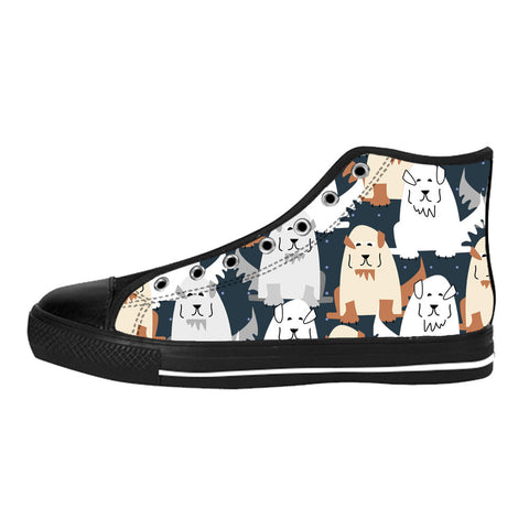 Great Pyrenees Shoes & Sneakers - Custom Great Pyrenees Canvas Shoes - TeeAmazing - 1