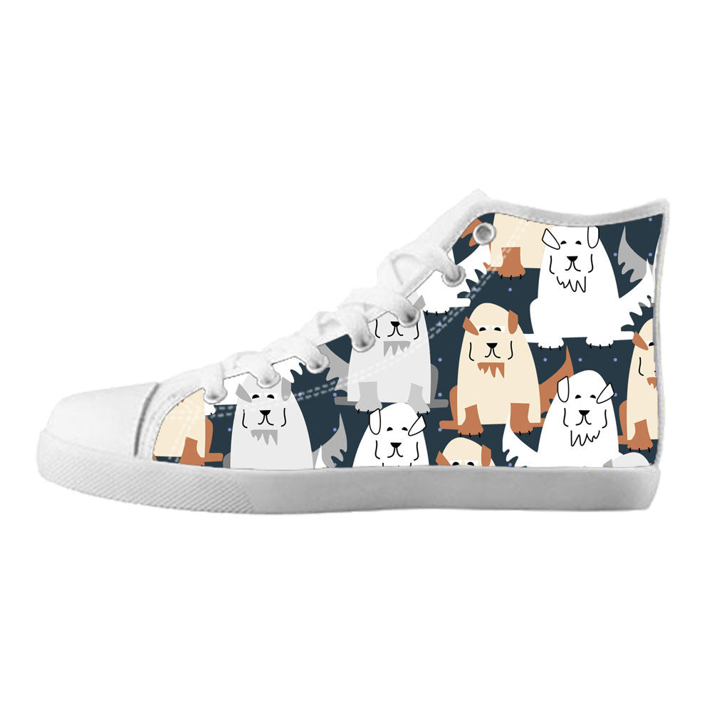 Great Pyrenees Shoes & Sneakers - Custom Great Pyrenees Canvas Shoes - TeeAmazing