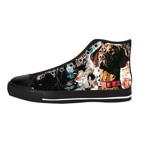 Vizsla Shoes & Sneakers - Custom Vizsla Canvas Shoes - TeeAmazing - 1