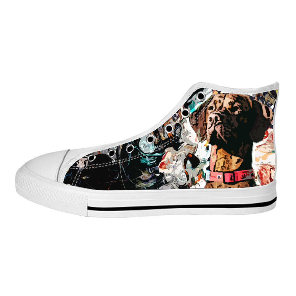 Vizsla Shoes & Sneakers - Custom Vizsla Canvas Shoes - TeeAmazing - 2