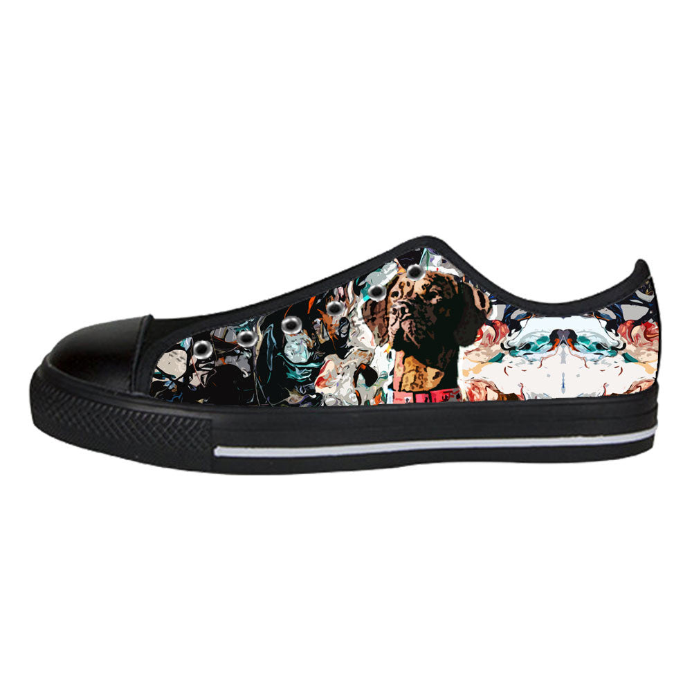 Vizsla Shoes & Sneakers - Custom Vizsla Canvas Shoes - TeeAmazing - 3