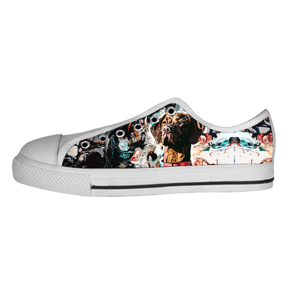 Vizsla Shoes & Sneakers - Custom Vizsla Canvas Shoes - TeeAmazing - 4