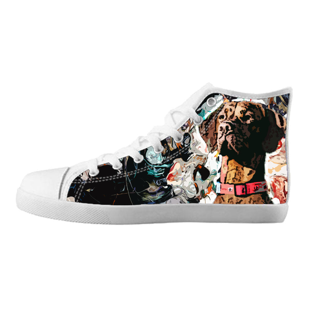 Vizsla Shoes & Sneakers - Custom Vizsla Canvas Shoes - TeeAmazing - 5