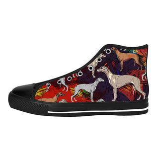 Whippet Shoes & Sneakers - Custom Whippet Canvas Shoes - TeeAmazing - 1