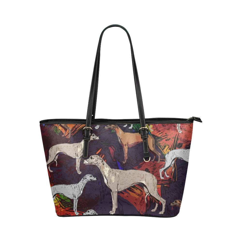 Whippet Tote Bags - Whippet Bags - TeeAmazing