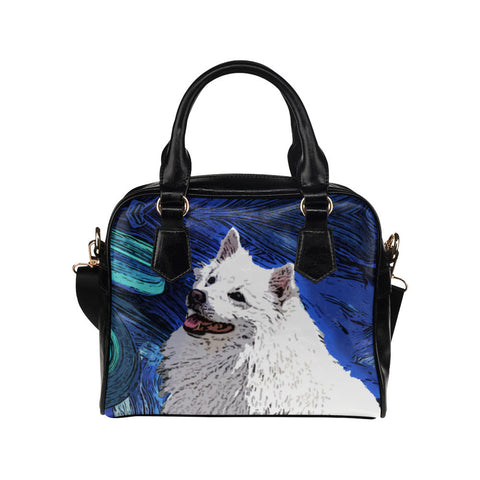 American Eskimo Dog Purse & Handbags - American Eskimo Dog Bags - TeeAmazing
