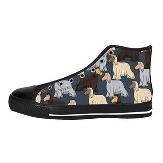 Afghan Hound Shoes & Sneakers - Custom Afghan Hound Canvas Shoes - TeeAmazing - 1