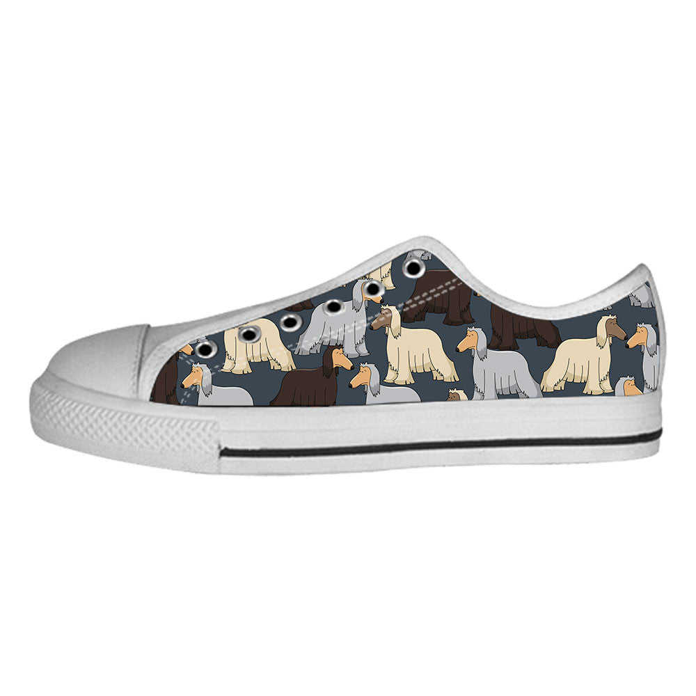 Afghan Hound Shoes & Sneakers - Custom Afghan Hound Canvas Shoes - TeeAmazing - 4