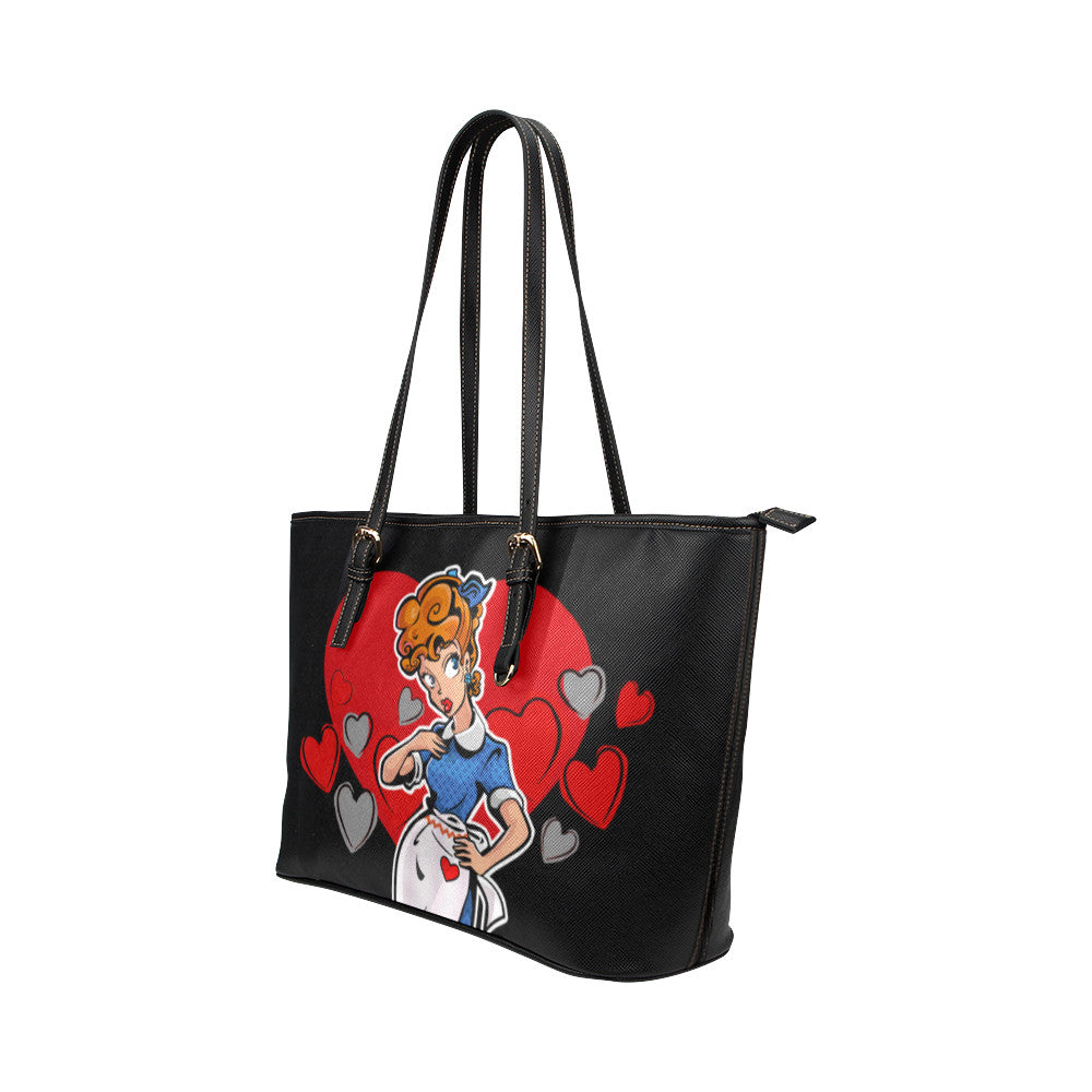 Lucy's Heart Tote Bags - TeeAmazing