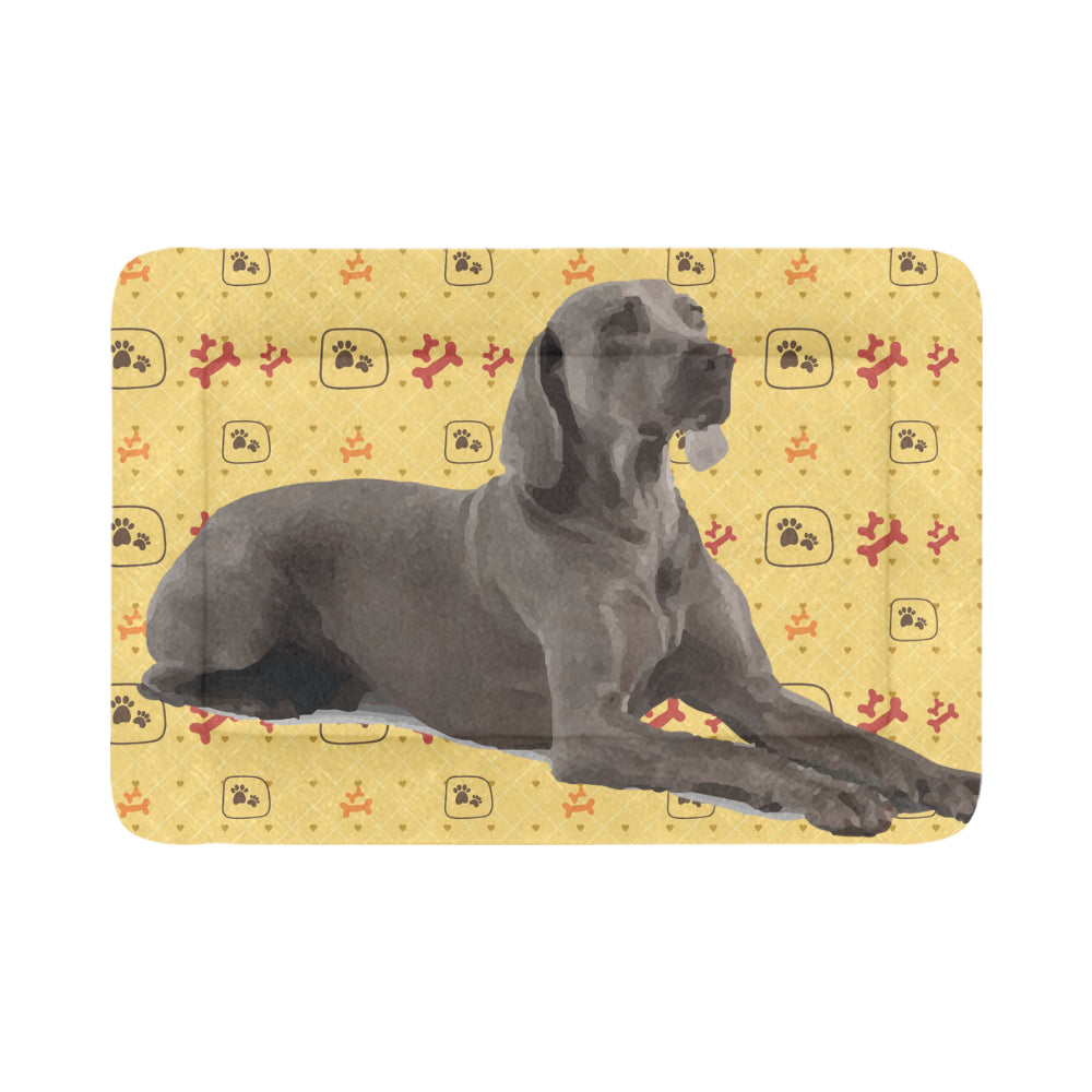 "Weimaraner Dog Beds 54""x37"" - TeeAmazing"