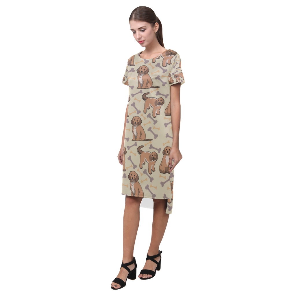Cockapoo Short Sleeves Casual Dress - TeeAmazing