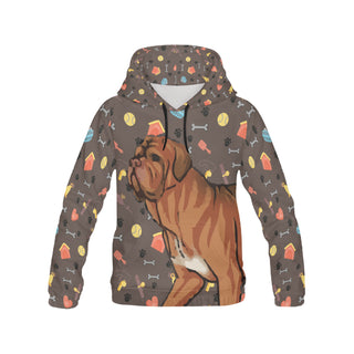 Dogues De Bordeaux Dog All Over Print Hoodie for Women - TeeAmazing