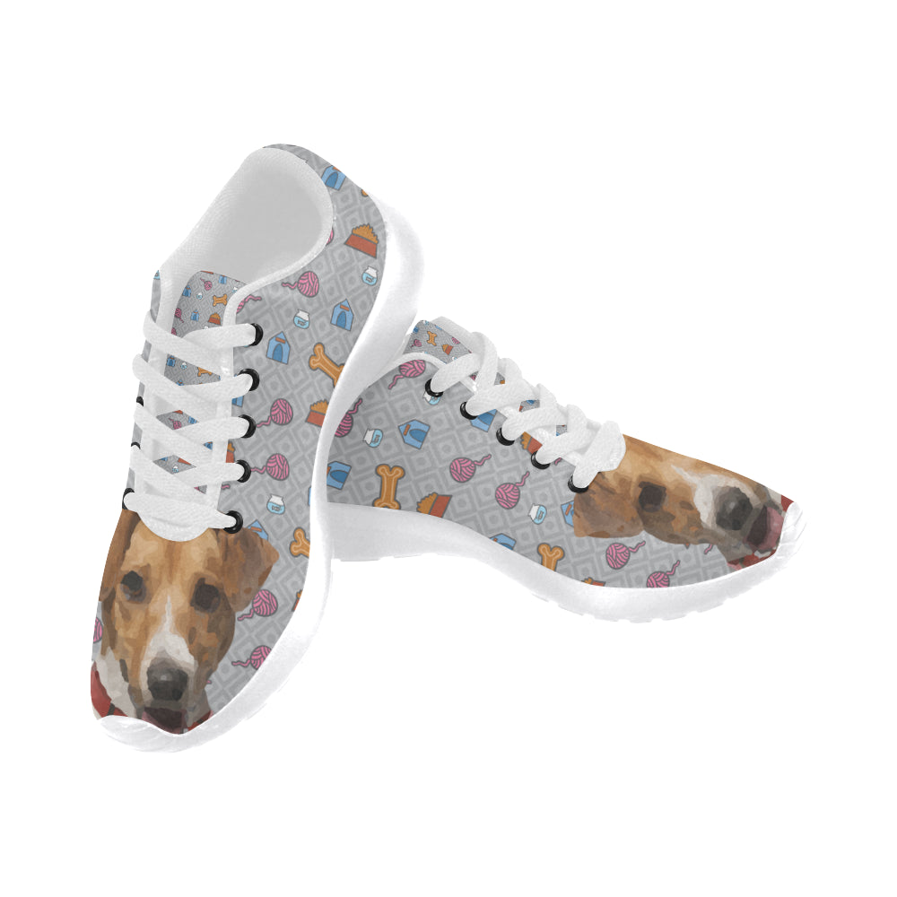 a59804a679e Jack Russell Terrier White Sneakers Size 13-15 for Men - TeeAmazing