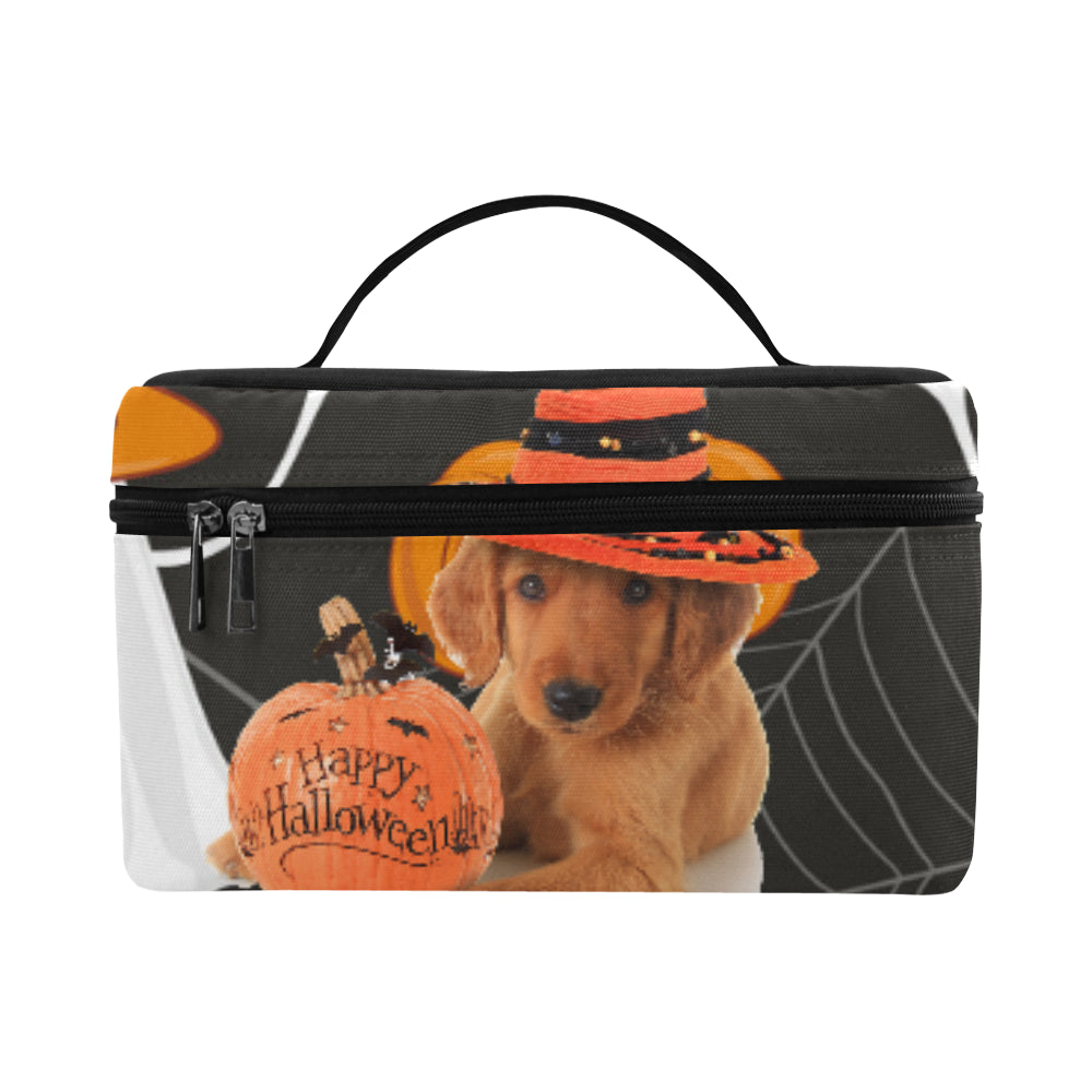 golden retriever halloween cosmetic baglarge teeamazing