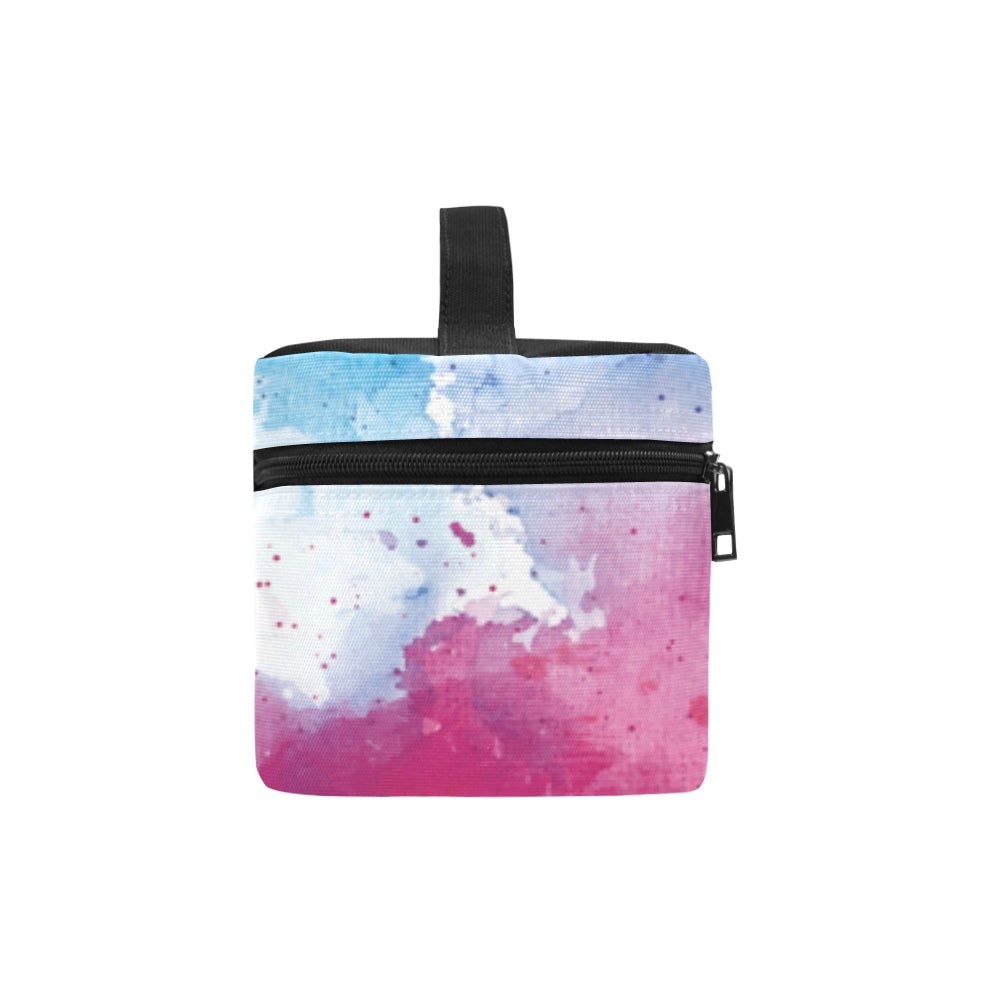 Pug Water Colour No.1 Cosmetic Bag/Large - TeeAmazing
