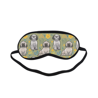 Shih Tzu Flower Sleeping Mask - TeeAmazing