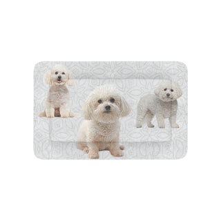"Bichon Frise Lover Pet Bed 36""x23"" - TeeAmazing"