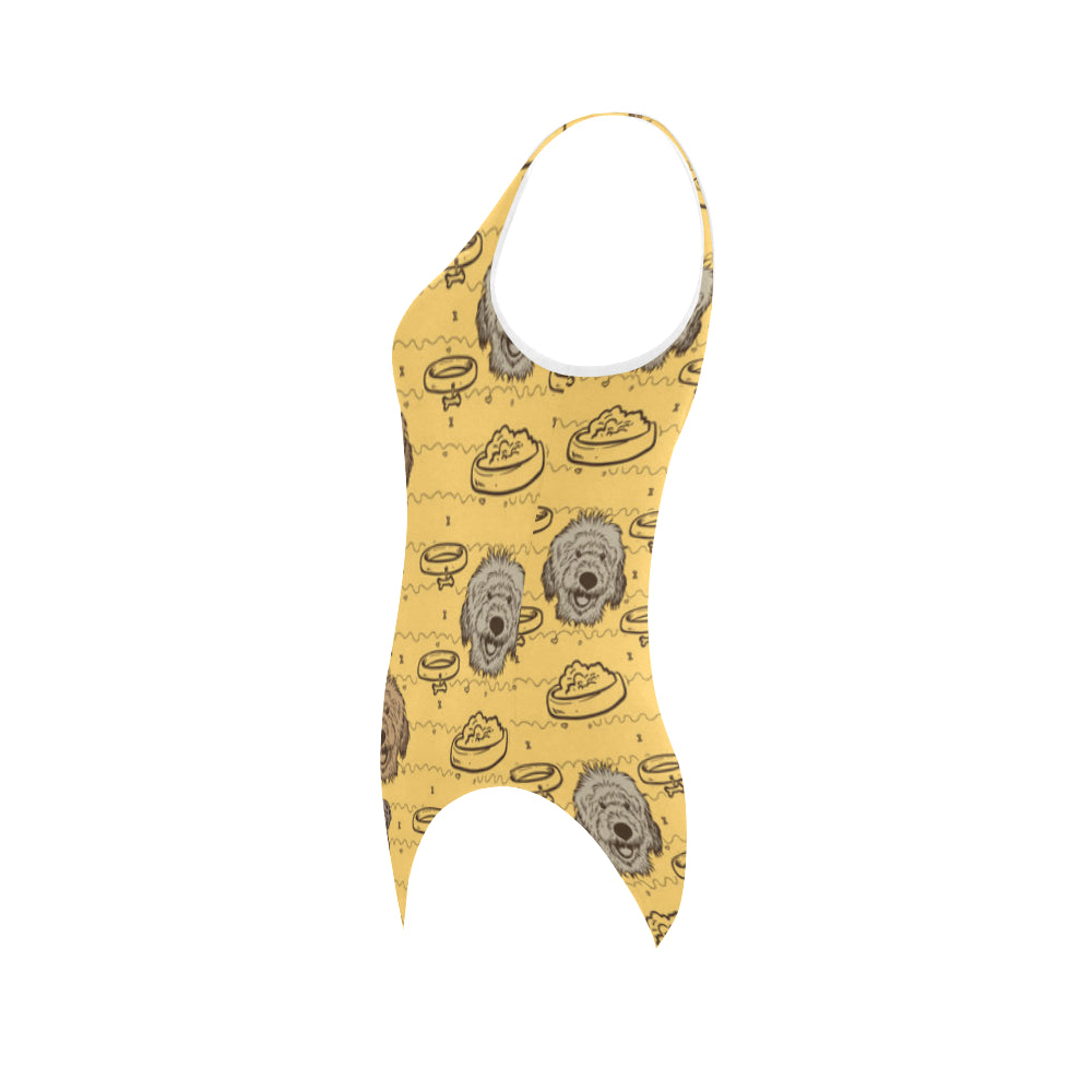 Australian Goldendoodle Vest One Piece Swimsuit - TeeAmazing