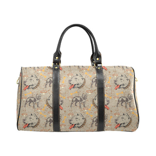 Pitbull Pattern New Waterproof Travel Bag/Small - TeeAmazing