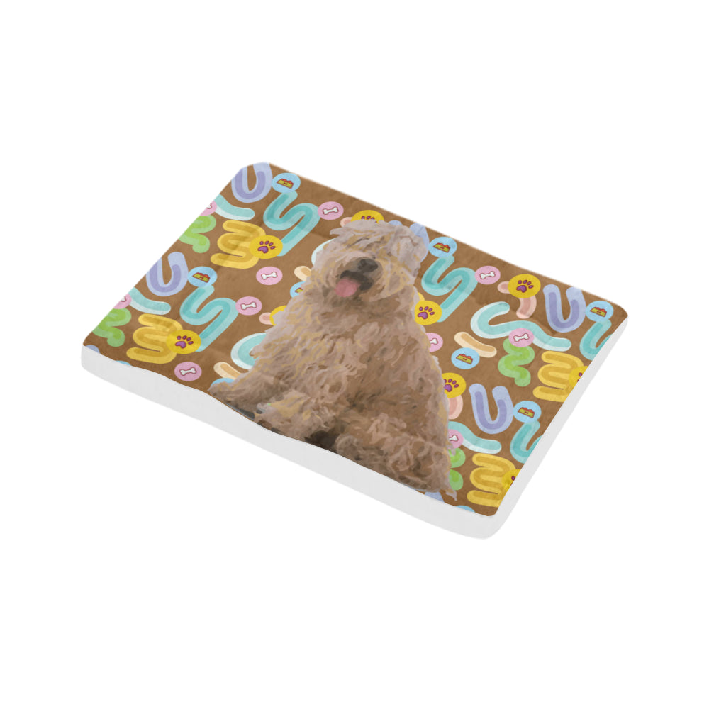 "Soft Coated Wheaten Terrier Dog Beds 30""x21"" - TeeAmazing"
