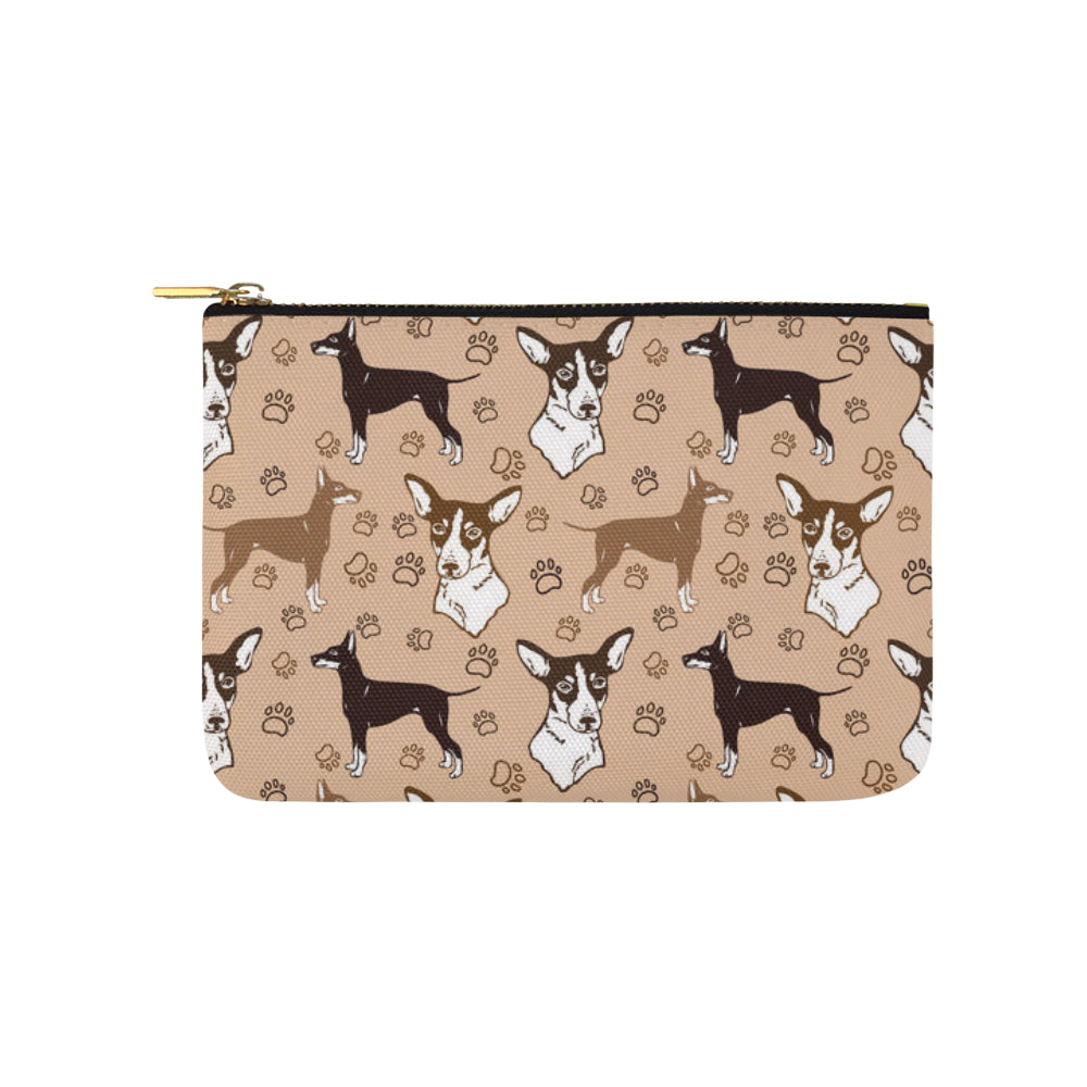 Manchester Terrier Carry-All Pouch 9.5x6 - TeeAmazing