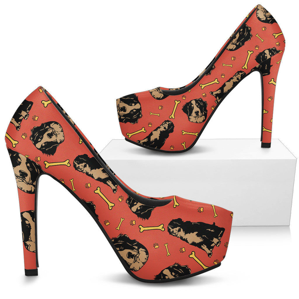Bouviers High Heels - Custom High Heels for Women - TeeAmazing