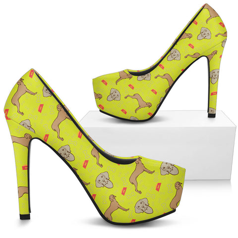 Weimaraner High Heels - Custom High Heels for Women