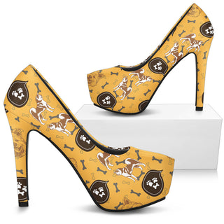 Akita High Heels - Custom High Heels for Women - TeeAmazing