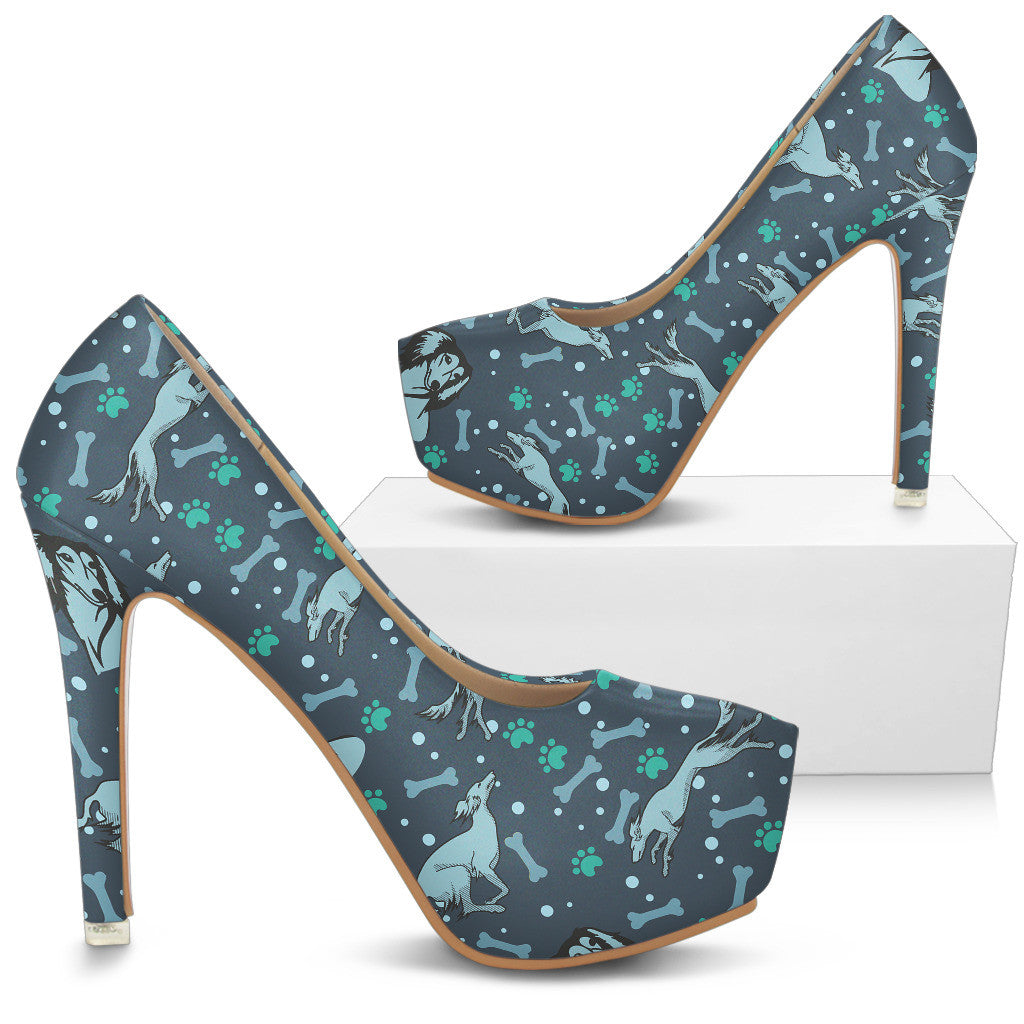 Saluki High Heels - Custom High Heels for Women - TeeAmazing