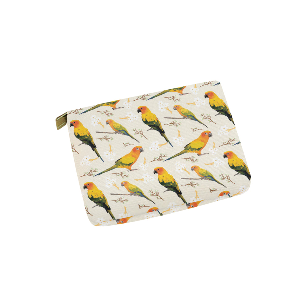 Conures Carry-All Pouch 6x5 - TeeAmazing