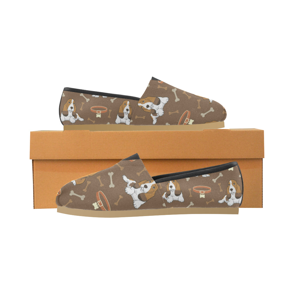 Basset Fauve Women's Casual Shoes - TeeAmazing