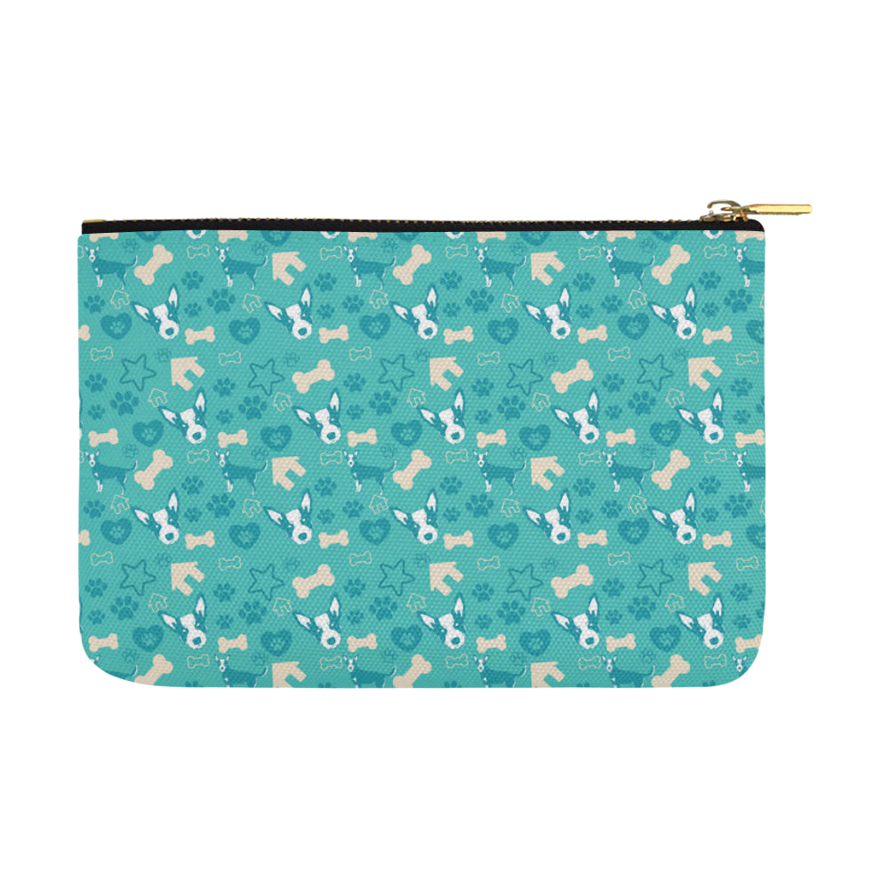 Australian Cattle Dog Pattern Carry-All Pouch 12.5x8.5 - TeeAmazing