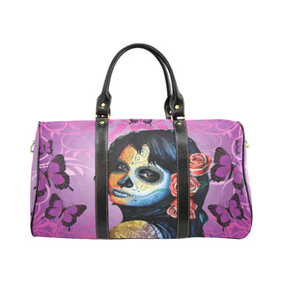 Sugar Skull Candy V1 New Waterproof Travel Bag/Large - TeeAmazing