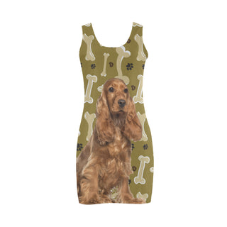 Cocker Spaniel Dog Medea Vest Dress - TeeAmazing