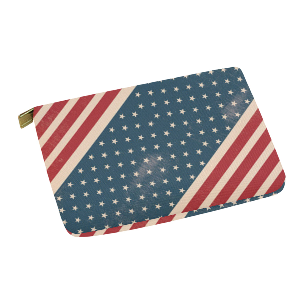 4th July V2 Carry-All Pouch 12.5x8.5 - TeeAmazing