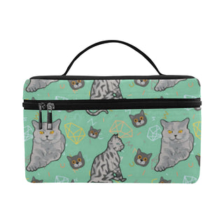 Domestic Shorthair Cosmetic Bag/Large
