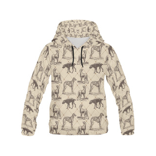 Scottish Deerhounds All Over Print Hoodie for Men (USA Size) (Model H13) - TeeAmazing