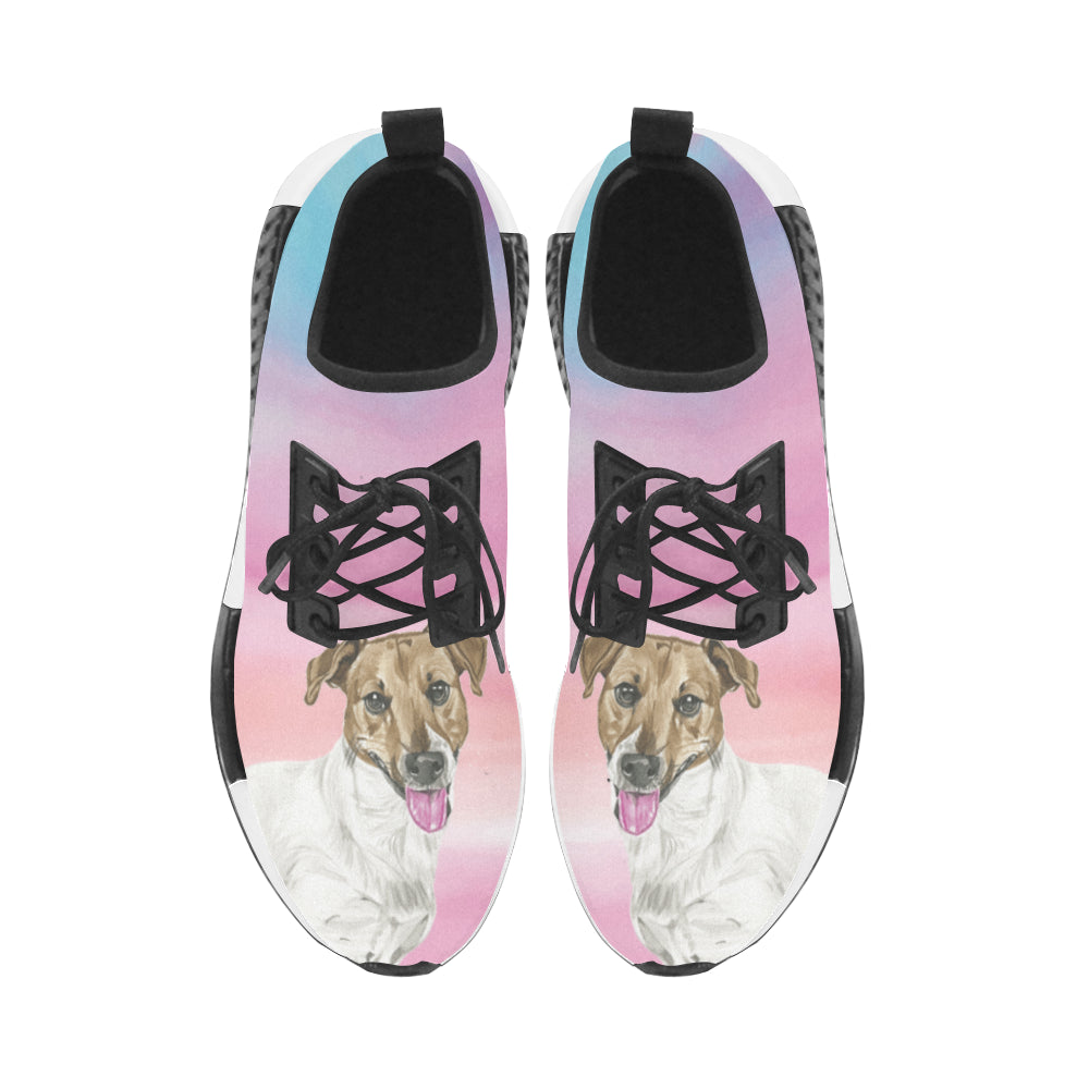 Jack Russell Terrier Water Colour No.1 Men's Draco Running Shoes - TeeAmazing